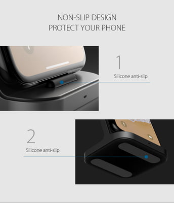 Fast Wireless charging stand for mobiles